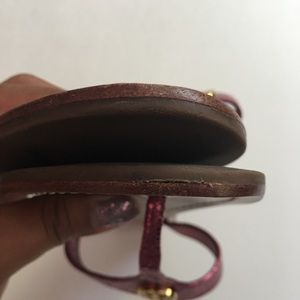 Tory Burch Shoes - Tory Birch pink flip flops size 7.5